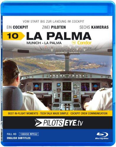 PilotsEYEtv Munich LA PALMA Blu ray Disc® Cockpit flight Condor Airbus A320 Bonus Islandtour with FO A PDF