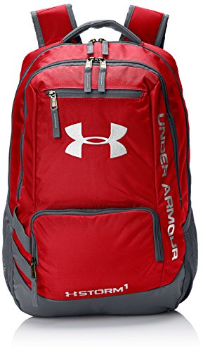 Under Armour Multisport Hustle Zaino Ii Rosso Rosso 45 X 33 X 20 Cm, 31 Litri