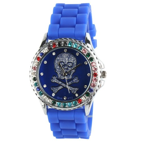 Yesurprise New Classic Trendy Crystal Rubber Jelly Silicone Lady Girls Casual Sport Wrist Watch for Graduation Party Gift Trendy #4