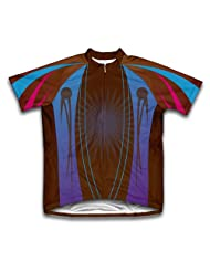 Cafe Color Splash Short Sleeve Cycling Jersey for Women