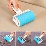 Bluelans® Fusselrolle auswaschbar, entfernt Tierhaare, Staub, etc. (Blau) -
