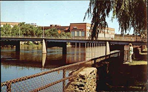 Wisconsin River in Wisconsin Rapids, Wisconsin