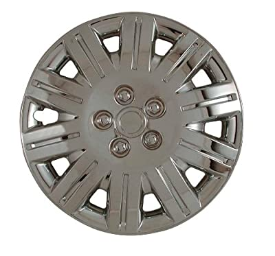 CCI IWC419-15C 15 Inch Clip On Chrome Finish Hubcaps - Pack of 4