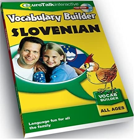 Vocabulary Builder Slovenian: Language fun for all the family - All Ages (PC/Mac)