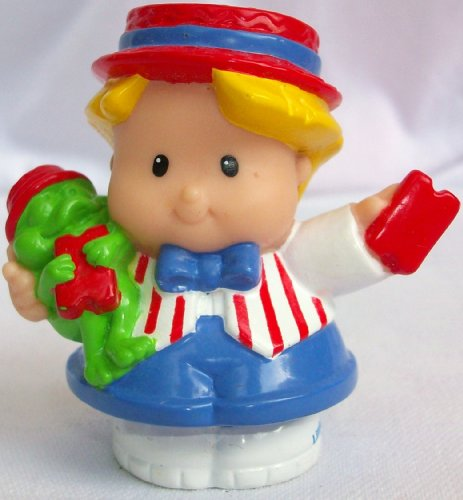Buy Low Price Mattel Fisher Price Little People Eddie Circus Ring Master, Replacement Figure Doll Toy (B002I17ZT8)