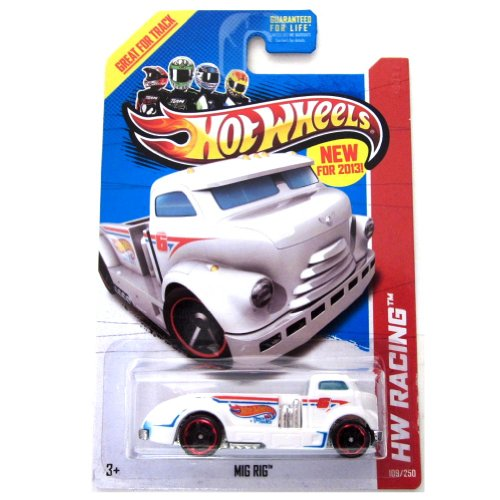 Hot Wheels Racing Mig Rig White 109/250 - 1