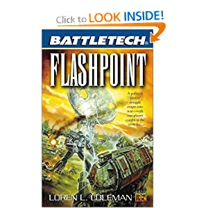 Battletech 50: Flashpoint by Loren Coleman
