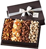 Broadway Basketeers Gourmet Fruit and Nut Mothers Day Gift Basket