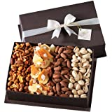Gourmet Fruit and Nut Gift Basket by Broadway Basketeers ~ Broadway Basketeers