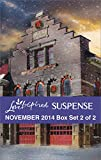 Love Inspired Suspense November 2014 - Box Set 2 of 2: Hazardous Homecoming\Silent Night Standoff\Perilous Refuge