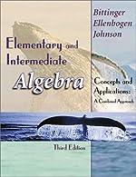 Elementary and Intermediate Algebra by Bittinger