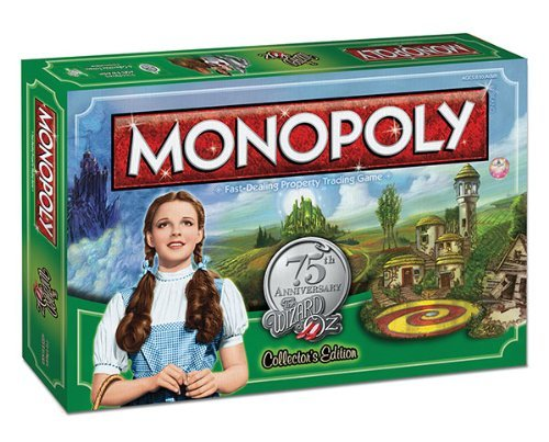 MONOPOLY: The Wizard of Oz 75th Anniversary Collector's Edition - Game