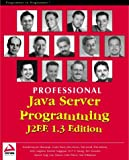img - for Professional Java Server Programming J2EE, 1.3 Edition book / textbook / text book