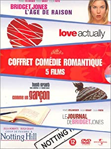 Coffret com die romantique 5 dvd le journal de bridget jones bridget jones l - Streaming coup de foudre a notting hill ...
