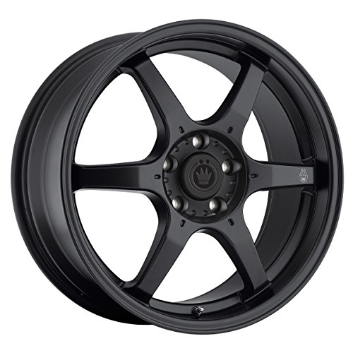 Konig Black Machined Wheel (16x7