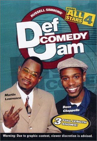 Cover art for  Def Comedy Jam: More All Stars - Volume 4