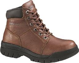 Women's Wolverine Marquette Steel Toe SR Boots Walnut, WALNUT, 6.5W