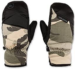 Volcom Men\'s Stay Dry Mitt, Camouflage, Large