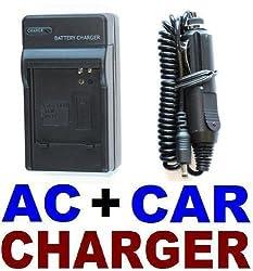 Neewer Samsung SLB-0937 AC & Car Battery Charger Set L730, L830, i8, NV4, NV33, CL5, PL10