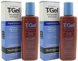2x Neutrogena T-Gel Therapeutic Shampoo Original 130ml