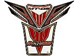 MOTOGRAFIX(モトグラフィックス) タンクパッド YAMAHA MT-09 ホワイト/レッド/ゴールド MT-TY022WRA