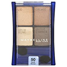 Maybelline New York ExpertWear Eye Shadow, Sunlit Bronze 50