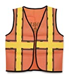 """Darice 16 by 20"""" Dress Up Vest, Construction Worker"""