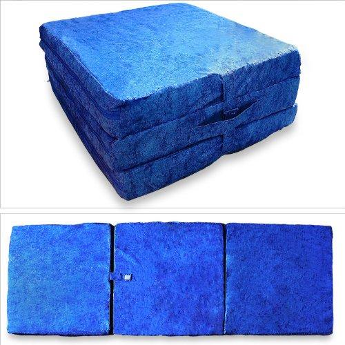 Offerterecensioni prezzi materasso pieghevole blu 195 x for Materasso ospiti pieghevole