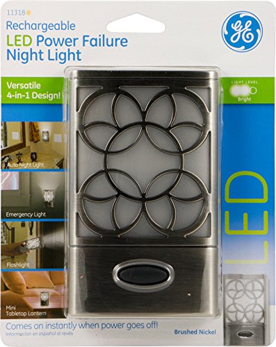 Ge Rechargeable Led Power Failure Night Light 4 In 1