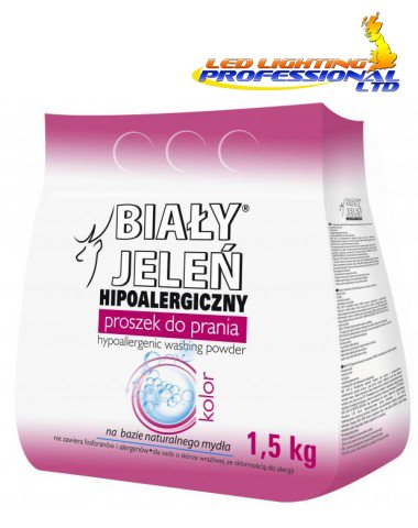 BIALY JELEN - HYPOALLERGENIC WASHING POWDER - COLOUR - 1.5kg