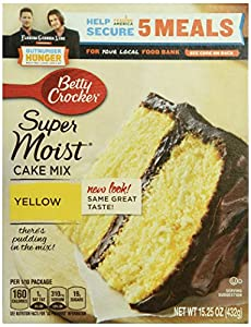 Betty Crocker Yellow Cake Mix, 15.25 oz