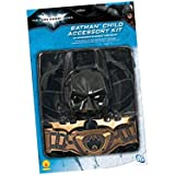 Batman: The Dark Knight Rises: 6 Piece Costume Accessory Set, Child Size (Black)