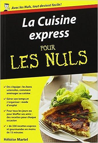 fr la cuisine express poche pour les nuls h 233 lo 239 se