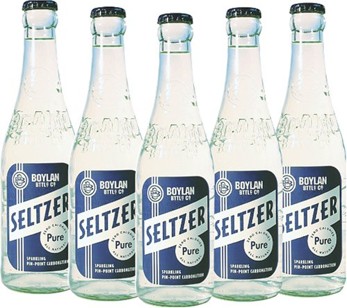 Seltzer Water Bottle front-642393
