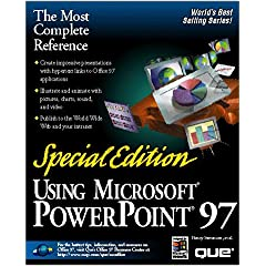 Special Edition Using Microsoft PowerPoint 97