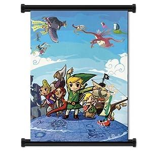 Legend Of Zelda Wind Waker Poster Legend of Zelda Wind Waker