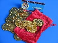 36 Goldmünzen im Schatzsäckchen from Pos...