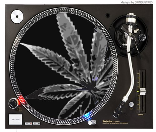 Marijuana Exposure - Dj Slipmats (Pair) By Xpress420