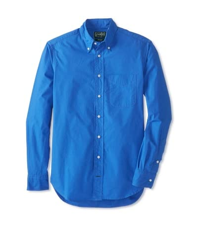 Gitman Vintage Men's Solid Cotton Button Down Shirt