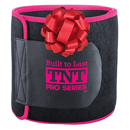 tnt-pro-series-waist-trimmer-weight-loss-ab-belt-premium-stomach-wrap-and-waist-trainer