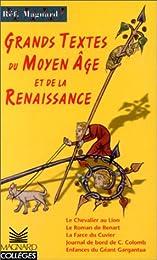Grands textes du Moyen âge et de la Renaissance
