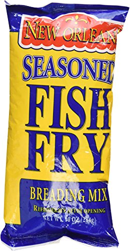 Zatarain's New Orleans Seasoned Fish Fry Breading Mix 10 Oz (2 Packs)