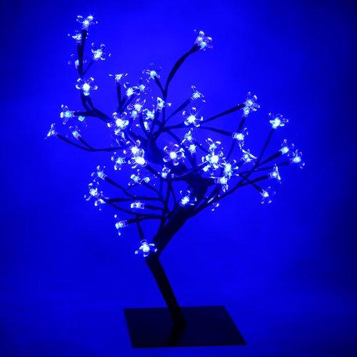 Blue LED Bonsai Tree   Bonsai Tree Lamp, Table Lamp, Blue Mood Lighting