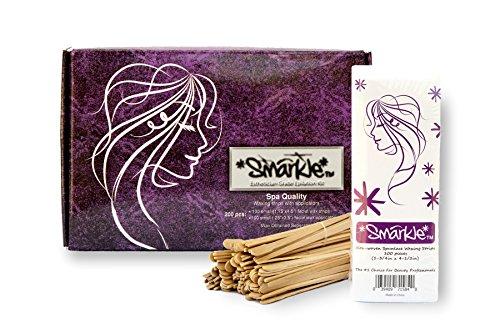 Hair Removal Facial & Bikini Wax Strips Kit: Esthetician Grade Epilation Set, Manscaping, Eyebrow Shaping, Home Waxing Kit & Waxing Sticks. (Brazil Wax Kit compare prices)