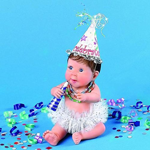 03-01459-003 Make Some Noise Sherry Rawn Artist 25TH ANNIVERSARY BABY by Ashton-Drake Retired doll figurine