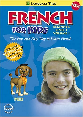 French for Kids:  Learn French with Penelope and Pezi Beg. Level 1 Vol. 1
