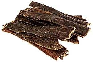 Beef Jerky Premium Dog Treats - Made in the USA - 100% USDA Beef - All-Natural -by TickledPet