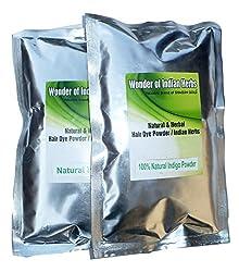Indigo Powder + Henna Powder (Natural Hair Color) Combo 100 g x 2