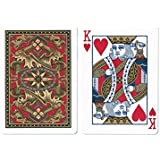 Bicycle Dragon Back Playing Cards, Gold