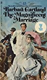 """The Magnificent Marriage - Lykke for to"" av Barbara Cartland"